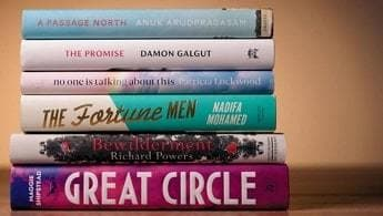 A Stack of Books from Waterstones