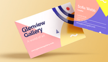 Business Cards Printed by Vistaprint