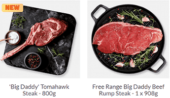 Muscle Food BBQ Steaks with Herbs