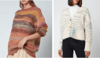 A selection of Coggles knitwear for Autumn 2021