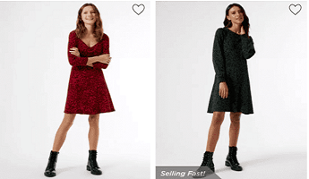 Dorothy Perkins Workwear Dresses in Red and Black