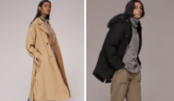 A selection of Whistles coats for A/W 2021