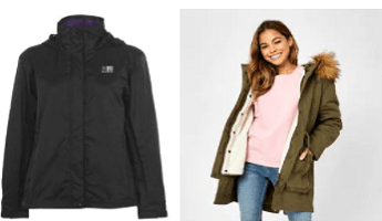 A selection of USC coats and Jackets